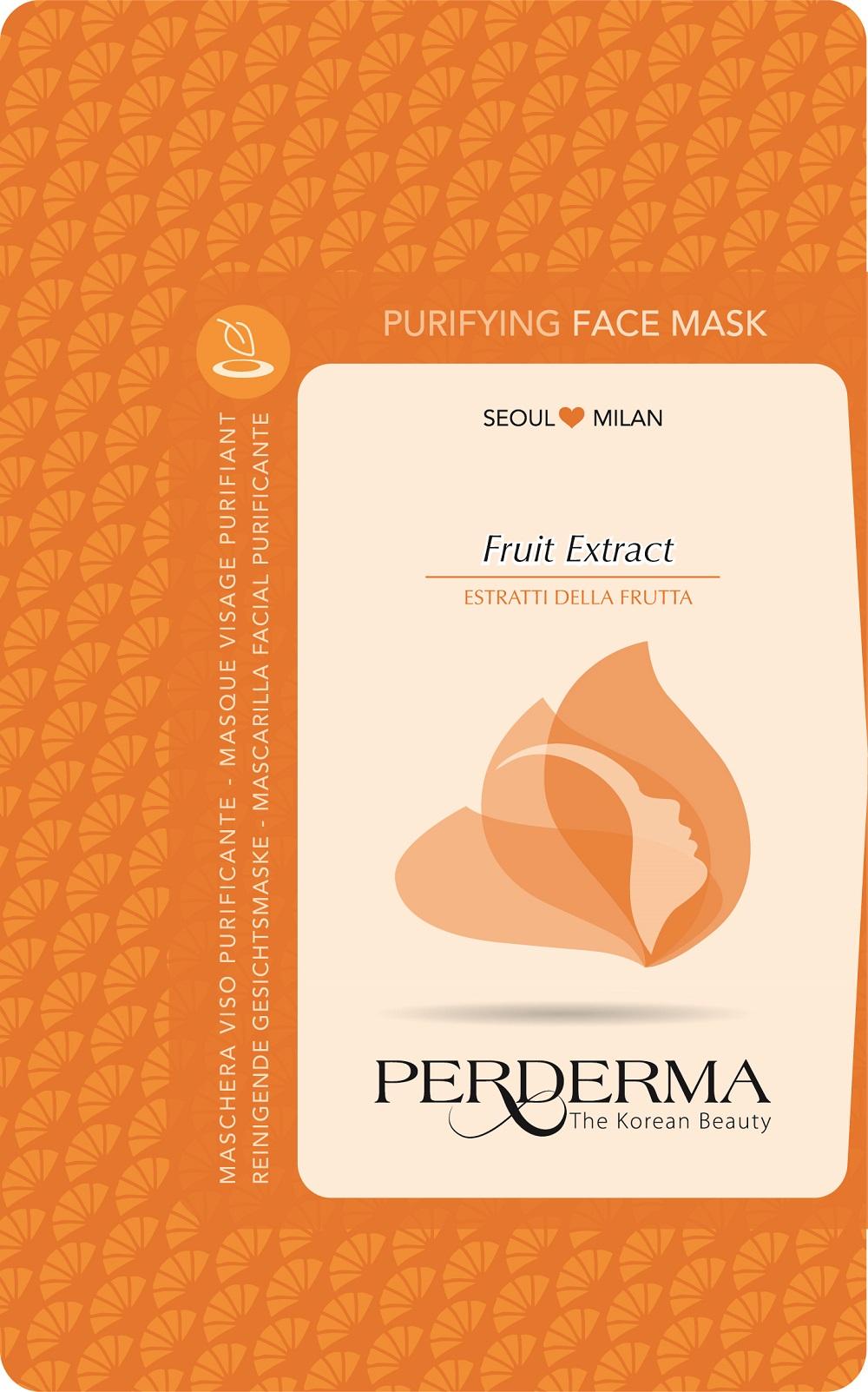 Maschera viso PERDERMA purificante