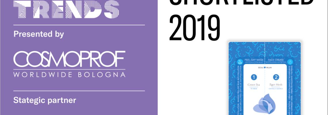 PERDERMA - COSMOTREND 2019 - COSMOPROF - 2019 - PEEL OFF BLUE ANTIPOLLUTION