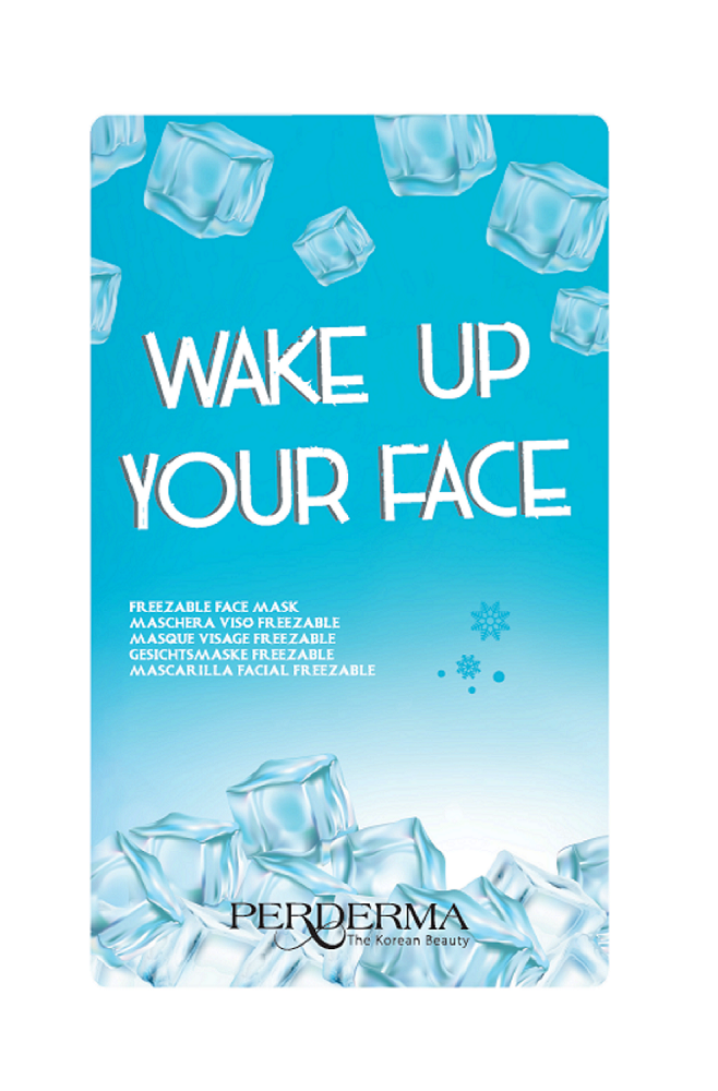 FREEZABLE MASK - Wake up your face - PERDERMA
